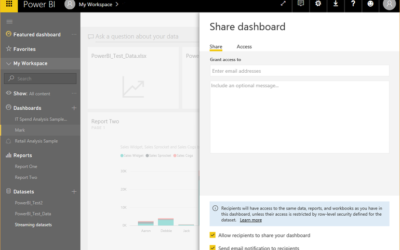 How to share your Power BI dashboards