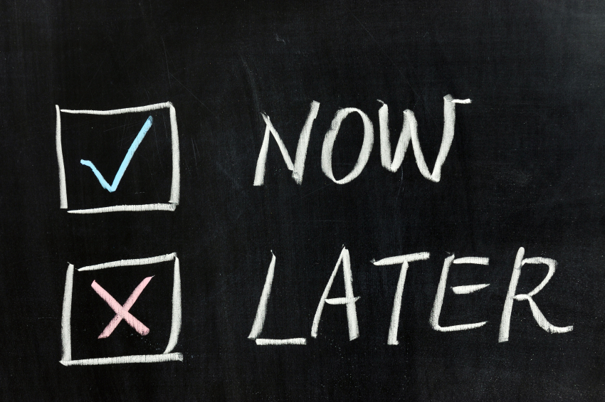 Procrastination is the thief of time; Start your business now