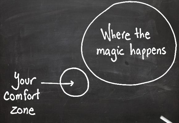 Don't be afraid to explore new opportunities in unexpected ways
